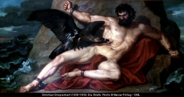 Prometheus Tortured by the Eagle